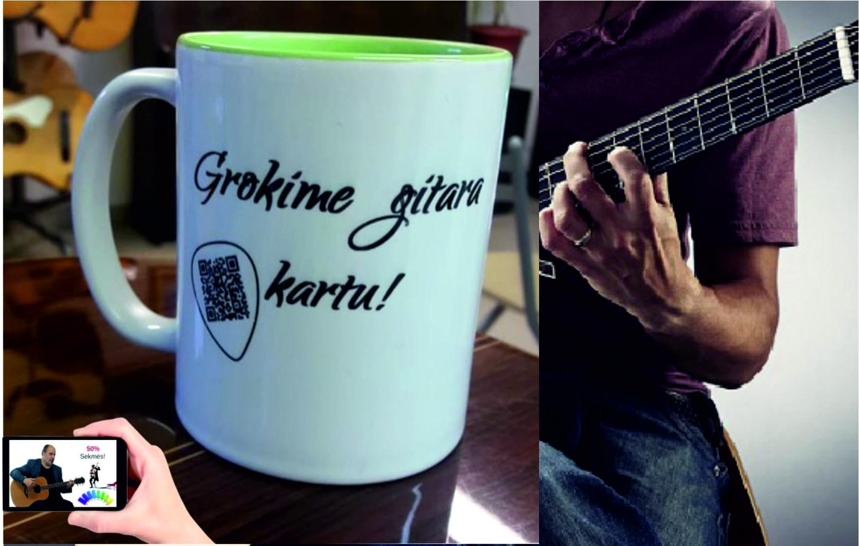 Gitara puodelis