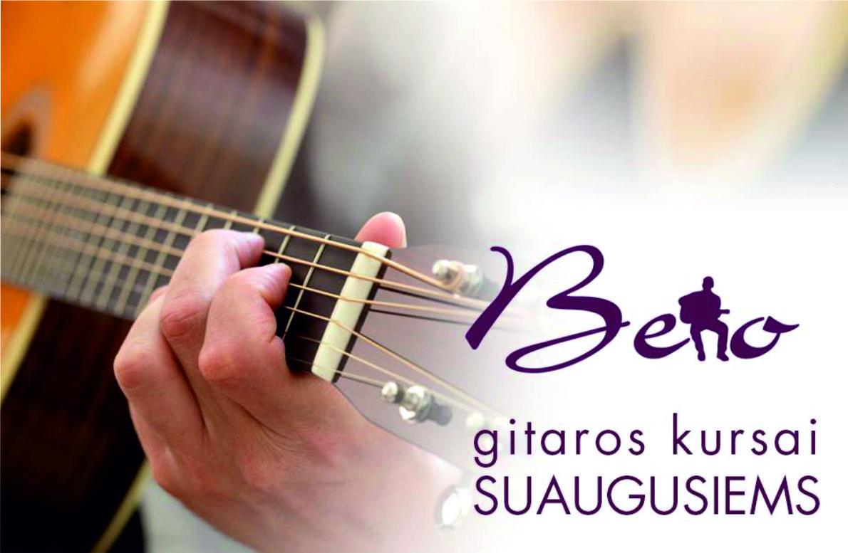 Beno gitaros kursai